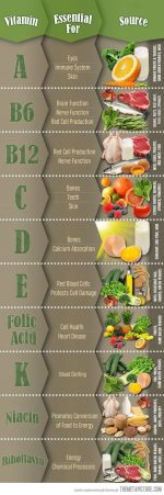 Crucial Functions Of Vitamins In Your Body