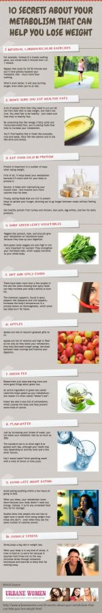 10 Metabolism Secrets! We Love #5!