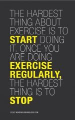 The Hardest Thing About Exercise