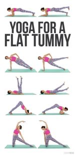 Yoga Designed For A Flat Tummy!