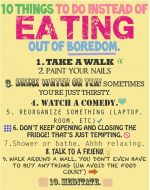 10 Fascinating Ways To Stop Eating When You're Bored!