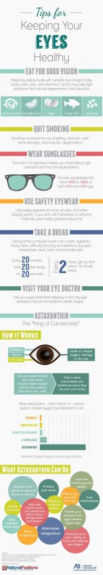 Tips For Keeping Your Eyes Healthy!