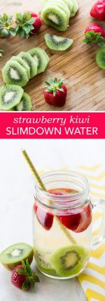 Get Slim With This Strawberry Kiwi Water!