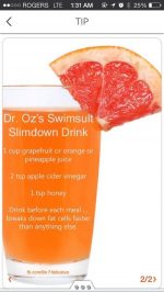 Dr. Oz's Swimsuit Slimdown Drink!