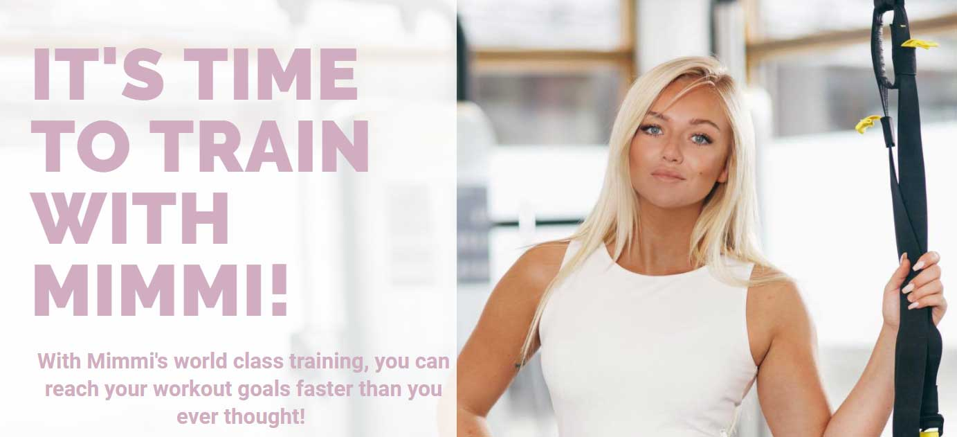 Train with Mimmi